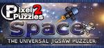 Pixel Puzzles 2 Space Logo