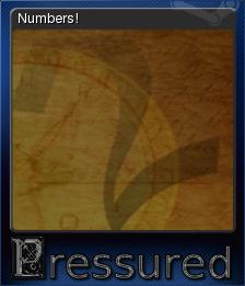 Pressured Card 1