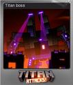 Titan Attacks! Foil 5