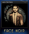 Face Noir Card 1