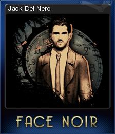 Face Noir Card 1