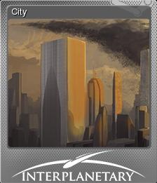 Interplanetary Card 02 Foil