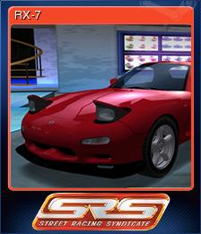 Street Racing Syndicate Card 1