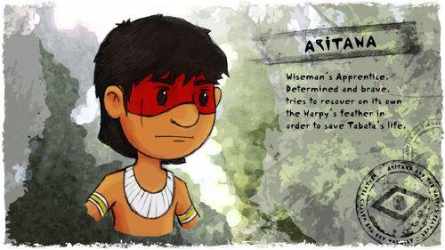 Aritana and the Harpys Feather Artwork 1