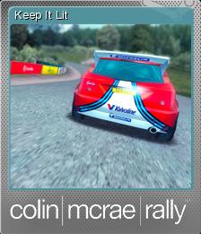 Colin McRae Rally Foil 7
