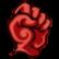 Dark Scavenger Emoticon Fistpump
