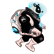 Gravity Badgers Emoticon chubb