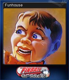 Pinball Arcade - Funhouse | Steam Trading Cards Wiki | FANDOM