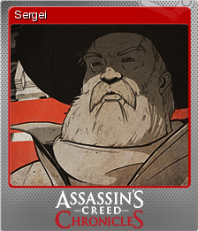 Assassin's Creed Chronicles Russia Foil 3