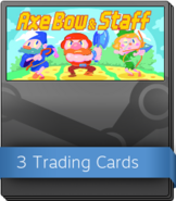 Axe, Bow & Staff Booster Pack