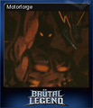 Brutal Legend Card 12