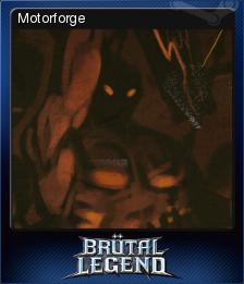 Brutal Legend Card 12