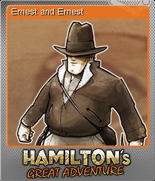 Hamilton's Great Adventure Foil 6