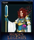 Heroes & Legends Conquerors of Kolhar Card 6
