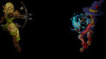 Dungeon Defenders Eternity Background Huntress&Apprentice