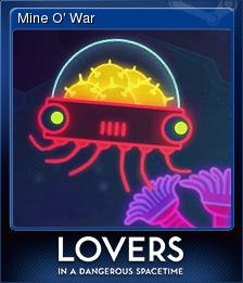 Lovers in a Dangerous Spacetime Card 3