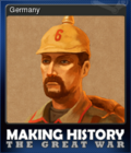 Making History The Great War Card 4