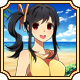 Sakura Beach Badge 5