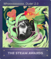 Steam Awards 2017 Foil 11