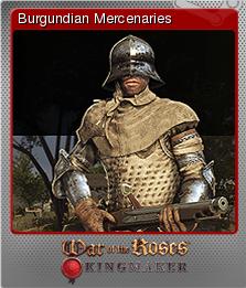 War of the Roses Kingmaker Foil 4
