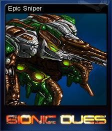 Bionic Dues Card 5