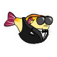 Blowy Fish Badge 5