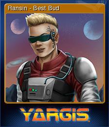 Yargis - Space Melee Card 3