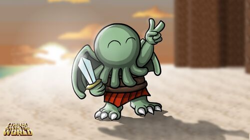 Cthulhu Saves the World Artwork 4
