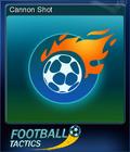 Football Tactics Card 01