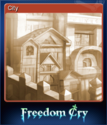 Freedom Cry Card 2