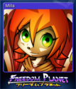 Freedom Planet Card 3