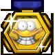Oozi Earth Adventure Badge Foil