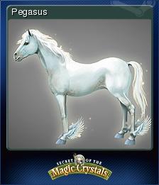 Secret of the Magic Crystals Card 2