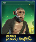 The Deadly Tower of Monsters Card 1