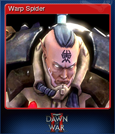Warhammer 40,000 Dawn of War II Card 12