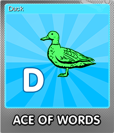 Ace Of Words Foil 4