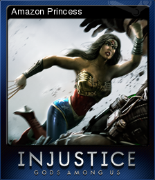 Injustice Gods Among Us Card 3