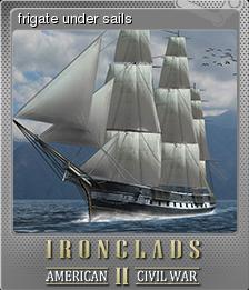 Ironclads 2 American Civil War Foil 1