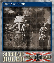 Supreme Ruler 1936 Foil 9