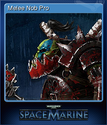 Warhammer 40,000 Space Marine Card 14