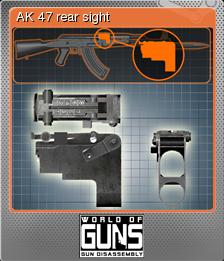 World of Guns Gun Disassembly Foil 06