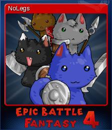 Epic Battle Fantasy 4 Card 14