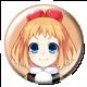 Hyperdimension Neptunia ReBirth3 V Generation Badge 5