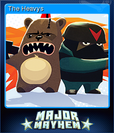 Major Mayhem Card 04