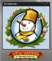 New Yankee in Santa's Service Foil 1