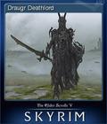 The Elder Scrolls V Skyrim Card 6