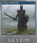 The Elder Scrolls V Skyrim Foil 6