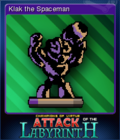 Attack of the Labyrinth + Card 6