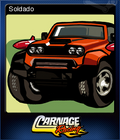Carnage Racing Card 2