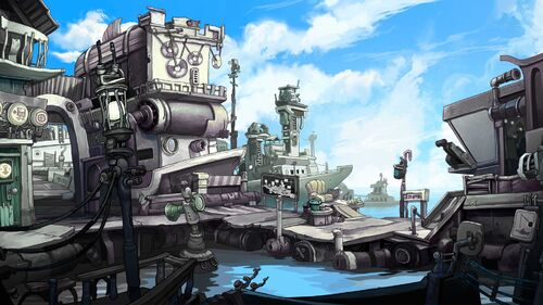 Chaos on Deponia Artwork 5